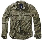 Brandit Vintage Shirt Longsleeve Oliv M