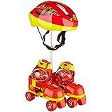 Mondo 18806 Cars - Juego de patines y protecciones infantiles