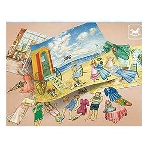 """aue-verlag Kit de modelo """"Paper playa de muñecas Studio Vivarium"""