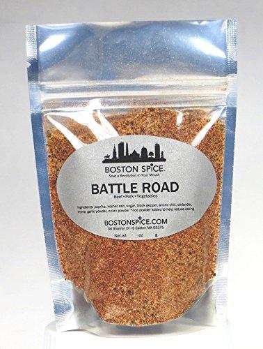 Boston Spice Battle Road Bbq Grill Ofen Würzen Steakhouse-Mischung für Rindfleisch Rippchen Steak Ribs Roasts (ca. 1/4 Tasse Spice) -