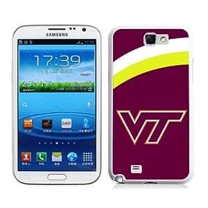 zeroCase NCAA Virginia Tech Hokies Samsung Galaxy Note 2 N7100 Hard Cover Case 2014 Style