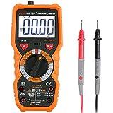 Multimètre Numérique Janisa PM18 AC DC Testeur Electrique Digital Automatique Non-Contact Voltmètre Ampèremètre Ohmmètre Détecteur de tension Maintien avec Rétroéclairage Ecran LCD