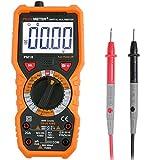 Multimeter mit Janisa PM18 Digital multimeter cat 3 Messgerät für AC DC Spannug Strom Widerstand Kapazität Frequenz sowie Kapazitanz berührungslose Spannungsmessung Digitales Voltmeter Amperemeter Ohmmeter mit großLCD anwendbar für DIY