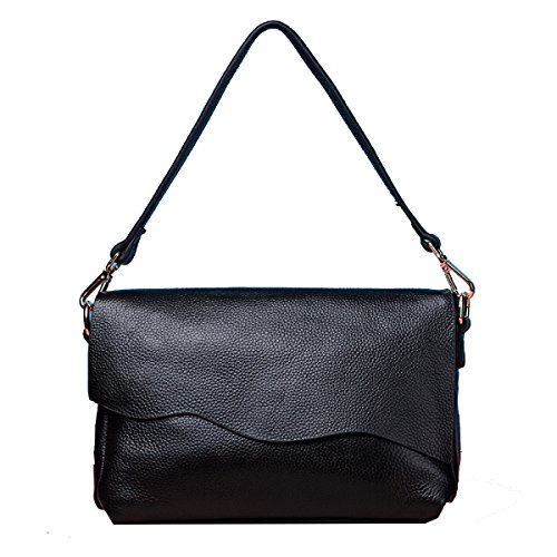 Borse Yy.f Pochette In Pelle Borse In Pelle Nuove Semplici Messenger Bag Ladies Fashion Borsa A Tracolla Multicolore Black