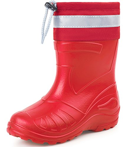 Ladeheid Children´s EVA Extra Light Wellington Boots Rainy Wellies Rain Boots KL050K