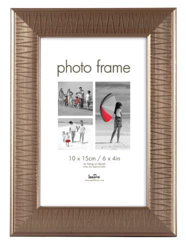 SET 12 Stk Innova Fotorahmen KILDARE (3801-12)-15x20 cm Bronze Decor-Gesamtgröße 20x25x1,4 cm-Stilrahmen Portraitrahmen Bilder-Rahmen Silber Zinn (Nielsen-box)