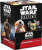 Star Wars destino despertares Booster Display Box-contiene 36x paquetes (total de 180nuevo tarjetas y 36nuevo dados)
