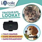 LOCALIZ Lookat localizador GPS para Gato y Perro pequeño