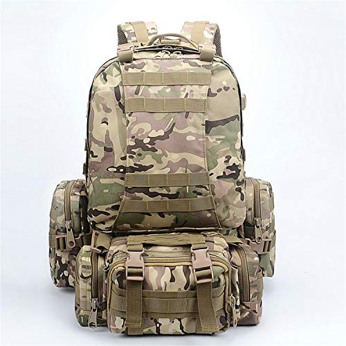 60L Molle 3 Day Assault Military Rucksack/Army Backpack/Camping Bag (Camaras Para Exteriores)