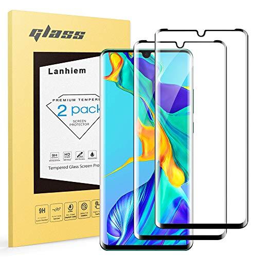 Lanhiem Vetro Temperato Huawei P30 PRO, [Copertura Completa] Senza Bolle, Durezza 9H, Ultra Resistente, Pellicola Protettiva Huawei P30 PRO, Compatibile...