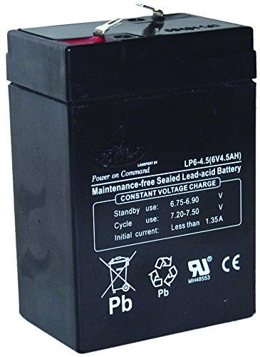 Greenstar 12733 Batterie 6V/4,5 Ah SW645