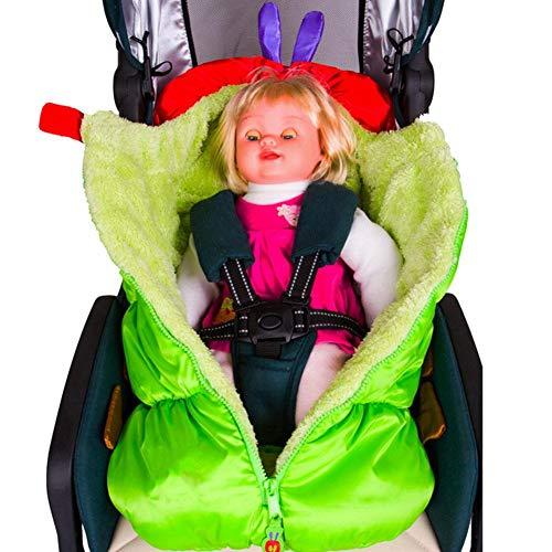 (PER Baby Warme Kinderwagen Bunting Tasche Caterpillar Form Schlafsack Fußsack Winddicht für Kinder Kleinkinder)
