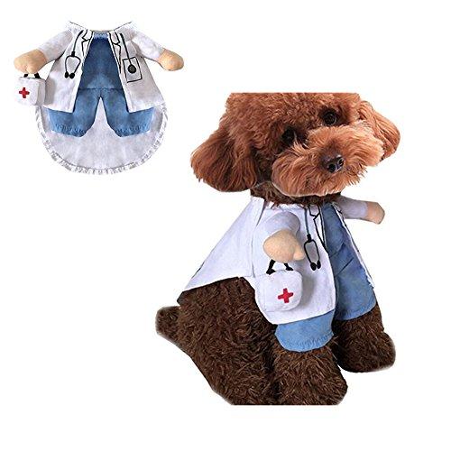 Morbuy Reizende Katzenkostüm Hunde Haustier Kleidung, HundeKostüm Hundebekleidung Kostüme Kleidung Katze lustiges Kleid cosplay (XL, Farbe3) (Dackel Kostüm Für Menschen)
