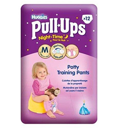 Huggies Pull-UpsPrincipesse Disney Notturne Dimensioni Bambina Di 5 Potty Training Pantaloni - 1 X 12 Pantaloni