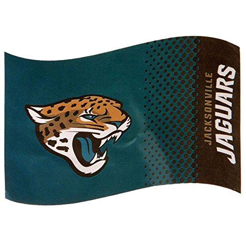 Jaguar Flagge (Jacksonville Jaguars Flagge Offizielles NFL Merchandising)