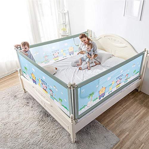 Bettgitter Extra Lang Bettwächter Kleinkind Babybett Bett Einzel Betten Faltbar Verfügbar,Zoogreen-180cm