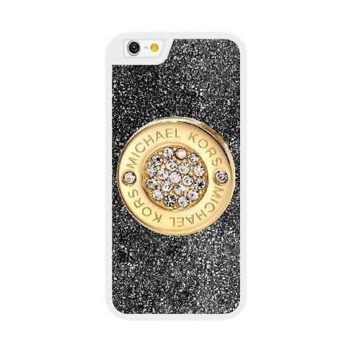 Coque pour MICHAEL KORS MK LOGO Série iPhone 6 6S plus de 5,5 pouces Case blanc iPhone 6 6S plus de 5,5 pouces Coque UIWEJDFGS4185