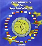 2-EUR (Euro) Special-Collection: für 57 2-EUR-Münzen inkl. Flaggen-Stickerset