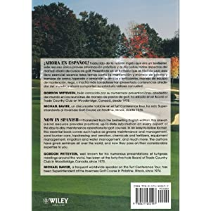 Golf Course Maintenance (Spani: Guia Practica Para Manejo De Pastos En Campos De Golf