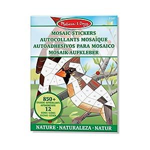 Melissa & Doug- Libros de Actividades - Colorear/Pintura/Pegatinas, Multicolor (Melissa and Doug 40162)