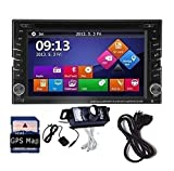 EinCar 6.2 Inch Wince 6.0 Double Din Car Stereo GPS Navigation with SD