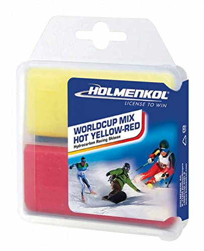Holmenkol Worldcup Mix hot yellow-red 2x 35g