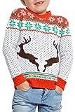 Weihnachtspullover Rentier Ugly Christmas Sweater Pullover Weihnachten 98-152
