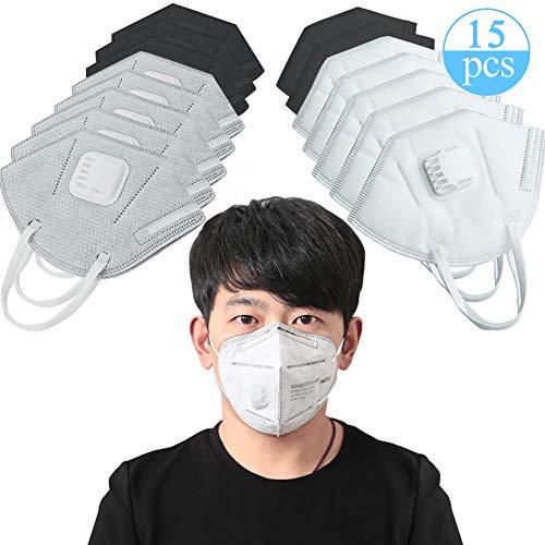Máscara Polvo desechable válvula exhalación,BESTZY