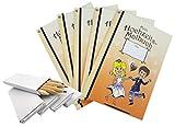 5er-Set Mein Hochzeitsmalbuch (je zwölf Seiten) inkl. 5 x Buntstifte - das ideale Malbuch Gastgeschenk für Kinder, tolle Beschäftigung für die Hochzeit