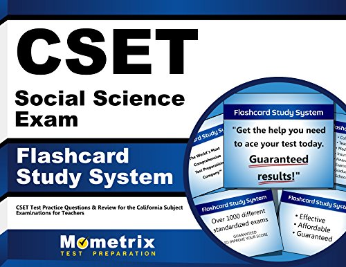 Cset Social Science Exam Flashcard Study System: Cset Test Practice Questions and Review for the California Subject Examinations for Teachers