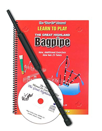Learn To Play Dudelsack-Set von Major Archie Cairns