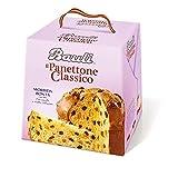 Bauli Il Panettone Classico kandiert klassisch Hefekuchen für Weihnachten 1 Kg