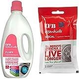 IFB Essentials Fluff Front Load Fabric Detergent - 1 L and IFB Essentials Descal Appliance Descaler - 100 g