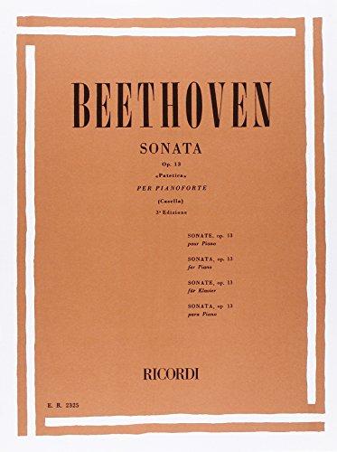 32 Sonate: N. 8 In Do Min. Op. 13 'Patetica'