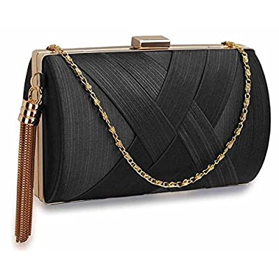 LEESUN LONDON Womens Clutch Purse Ladies Prom Party Wedding Bags Designer Evening Bags