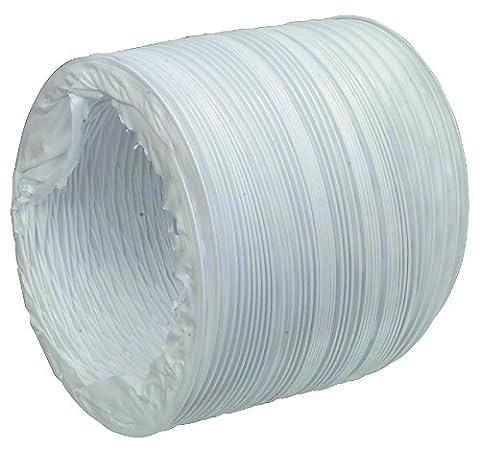 Fixapart W3-65022 Trocknerzubehör PVC Abluftschlauch 127 mm 6 m (Klimagerät Delonghi)