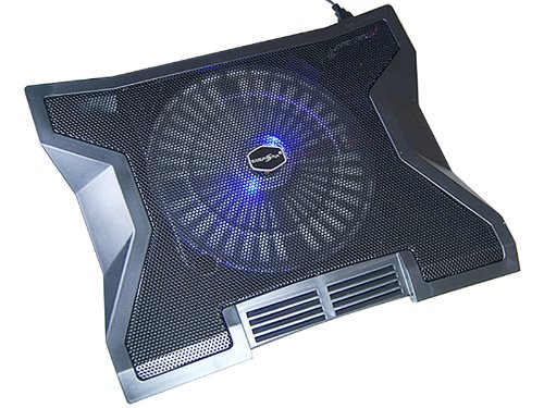 "Notebook Laptop Kühler Mit USB HUB für 15\"" / 17\"" -Notebook Laptop - 23 cm Lüfter mit LED(38cm x 30,5cm)"