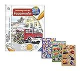Ravensburger  tiptoi Unterwegs mit der Feuerwehr + Gratis Kinder-Sticker