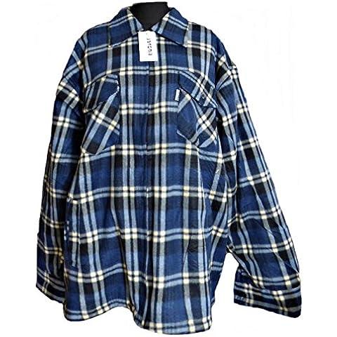 Leñador Chaqueta leñador Camisa térmica Chaqueta Térmica Camisa Azul Blanco A Cuadros M–3x