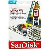 SanDisk Ultra Fit Unità Flash, USB 3.1 da 32 GB con Velocità fino a 130 MB/sec