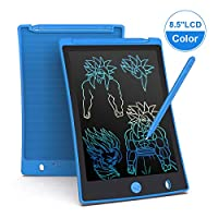 Arolun LCD Writing Tablet, 8.5 Inch Colorful Screen Digital eWriter Electronic Graphics Tablet Portable Writing Board Handwriting Doodle Drawing Pad for Kids Adult Home School Office(Blue)