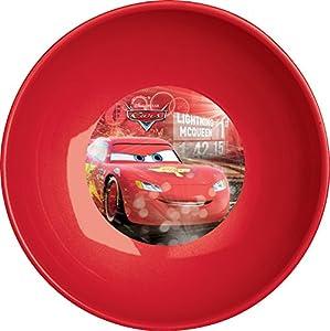 Ciao 33943-Plato hondo Cars, rojo