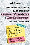 Guía, paso a paso con ejemplos, para hacer una Programación Didáctica y las Unidades Didácticas de cara a la Oposición (Temario Educación Primaria)