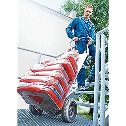 Diable électrique monte escalier pliant avec pelle large - Charge 140kg