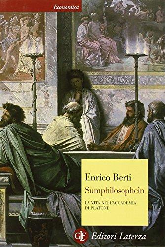 Sumphilosophein. La vita nell'Accademia di Platone