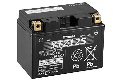 Batteria YUASA YTZ12S, 12V/11ah (dimensioni: 150X 87X 110) per Honda NC700X anno di costruzione 2012