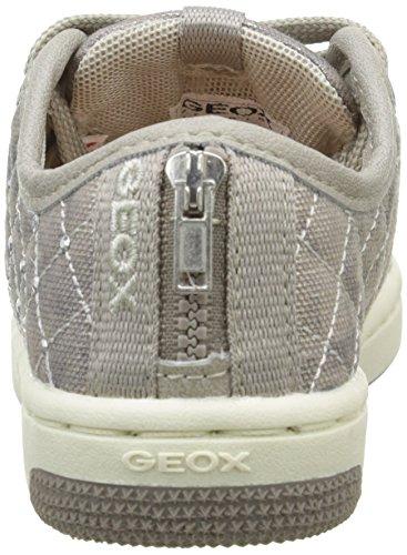 Geox - Jr Creamy D, Sneaker Bambina Beige