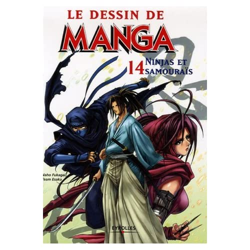 DESSIN DE MANGA T14 : NINJA ET SAMOURA?S by NAHO FUKAGAI (September 20,2006)