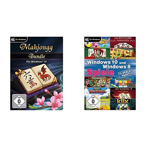 Mahjongg Bundle für Windows 10 [PC] & Windows 10 und Windows 8 Spiele [PC]