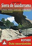 Sierra de Guadarrama. La Pedriza, Peñalara, Cuerda Larga, La Mujer Muerta. 50 excursiones. Guía Rother.